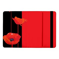 Flower Floral Red Back Sakura Samsung Galaxy Tab Pro 10 1  Flip Case by Mariart
