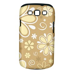 Flower Floral Star Sunflower Grey Samsung Galaxy S Iii Classic Hardshell Case (pc+silicone) by Mariart