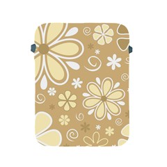 Flower Floral Star Sunflower Grey Apple Ipad 2/3/4 Protective Soft Cases by Mariart