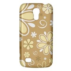 Flower Floral Star Sunflower Grey Galaxy S4 Mini by Mariart