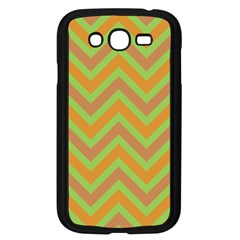 Zig Zags Pattern Samsung Galaxy Grand Duos I9082 Case (black) by Valentinaart