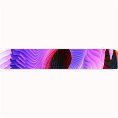 Digital Art Spirals Wave Waves Chevron Red Purple Blue Pink Small Bar Mats by Mariart