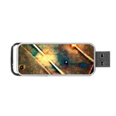 Light Space Portable Usb Flash (one Side) by DeneWestUK