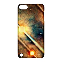 Light Space Apple Ipod Touch 5 Hardshell Case With Stand