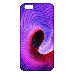 Digital Art Spirals Wave Waves Chevron Red Purple Blue Pink Iphone 6 Plus/6s Plus Tpu Case by Mariart