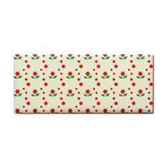 Flower Floral Sunflower Rose Star Red Green Cosmetic Storage Cases by Mariart