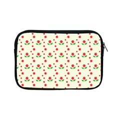 Flower Floral Sunflower Rose Star Red Green Apple Ipad Mini Zipper Cases by Mariart