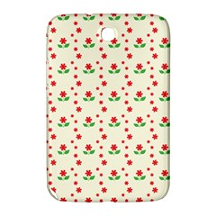 Flower Floral Sunflower Rose Star Red Green Samsung Galaxy Note 8 0 N5100 Hardshell Case  by Mariart