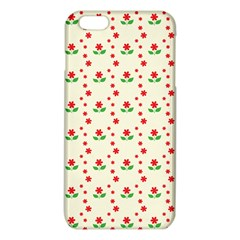 Flower Floral Sunflower Rose Star Red Green Iphone 6 Plus/6s Plus Tpu Case by Mariart