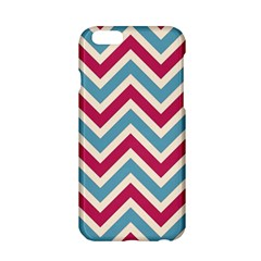 Zig Zags Pattern Apple Iphone 6/6s Hardshell Case by Valentinaart