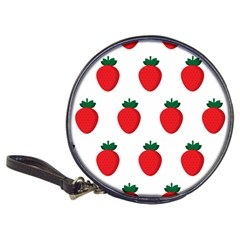 Fruit Strawberries Red Green Classic 20 Cd Wallets by Mariart