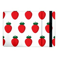 Fruit Strawberries Red Green Samsung Galaxy Tab Pro 10 1  Flip Case by Mariart