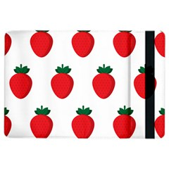 Fruit Strawberries Red Green Ipad Air 2 Flip by Mariart