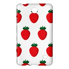 Fruit Strawberries Red Green Samsung Galaxy Tab 4 (7 ) Hardshell Case  by Mariart