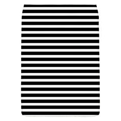 Horizontal Stripes Black Flap Covers (s)  by Mariart