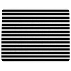 Horizontal Stripes Black Jigsaw Puzzle Photo Stand (rectangular) by Mariart