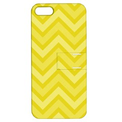 Zig Zags Pattern Apple Iphone 5 Hardshell Case With Stand