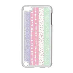 Heart Love Valentine Polka Dot Pink Blue Grey Purple Red Apple Ipod Touch 5 Case (white) by Mariart
