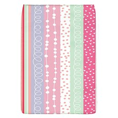 Heart Love Valentine Polka Dot Pink Blue Grey Purple Red Flap Covers (s)  by Mariart