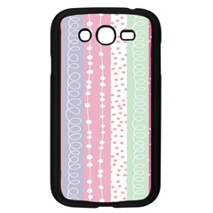 Heart Love Valentine Polka Dot Pink Blue Grey Purple Red Samsung Galaxy Grand Duos I9082 Case (black) by Mariart