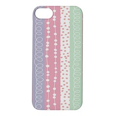 Heart Love Valentine Polka Dot Pink Blue Grey Purple Red Apple Iphone 5s/ Se Hardshell Case by Mariart