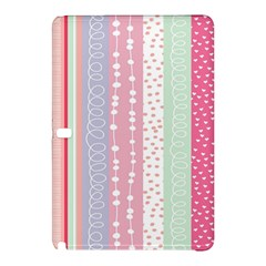 Heart Love Valentine Polka Dot Pink Blue Grey Purple Red Samsung Galaxy Tab Pro 10 1 Hardshell Case by Mariart