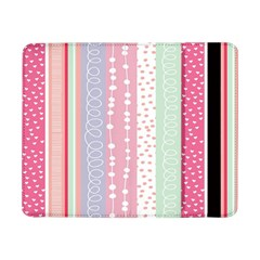 Heart Love Valentine Polka Dot Pink Blue Grey Purple Red Samsung Galaxy Tab Pro 8 4  Flip Case by Mariart