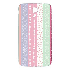 Heart Love Valentine Polka Dot Pink Blue Grey Purple Red Samsung Galaxy Mega I9200 Hardshell Back Case by Mariart