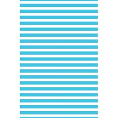 Horizontal Stripes Blue 5 5  X 8 5  Notebooks by Mariart
