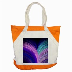 Color Purple Blue Pink Accent Tote Bag by Mariart