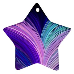 Color Purple Blue Pink Star Ornament (two Sides) by Mariart