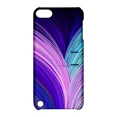 Color Purple Blue Pink Apple Ipod Touch 5 Hardshell Case With Stand by Mariart