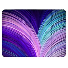 Color Purple Blue Pink Samsung Galaxy Tab 7  P1000 Flip Case by Mariart