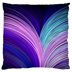 Color Purple Blue Pink Large Flano Cushion Case (two Sides) by Mariart