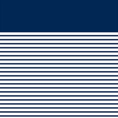 Horizontal Stripes Blue White Line Magic Photo Cubes by Mariart
