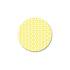 Yellow Orange Star Space Light Golf Ball Marker (10 Pack) by Mariart