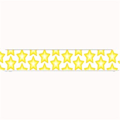 Yellow Orange Star Space Light Small Bar Mats by Mariart