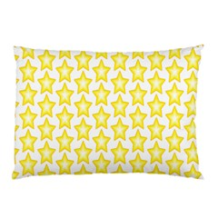 Yellow Orange Star Space Light Pillow Case (two Sides) by Mariart