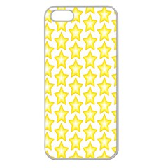 Yellow Orange Star Space Light Apple Seamless Iphone 5 Case (clear) by Mariart
