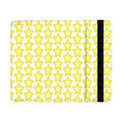 Yellow Orange Star Space Light Samsung Galaxy Tab Pro 8 4  Flip Case by Mariart