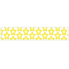 Yellow Orange Star Space Light Flano Scarf (large) by Mariart