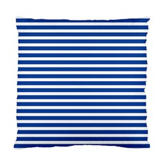 Horizontal Stripes Dark Blue Standard Cushion Case (two Sides) by Mariart