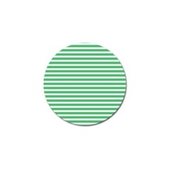 Horizontal Stripes Green Golf Ball Marker (10 Pack) by Mariart