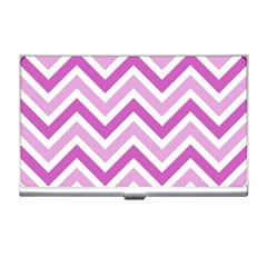 Zig Zags Pattern Business Card Holders