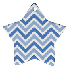 Zig Zags Pattern Ornament (star) by Valentinaart