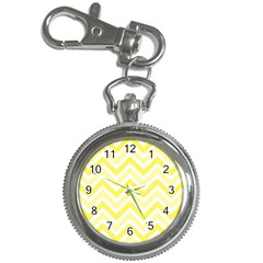 Zig Zags Pattern Key Chain Watches by Valentinaart