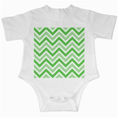 Zig Zags Pattern Infant Creepers