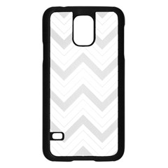 Zig Zags Pattern Samsung Galaxy S5 Case (black) by Valentinaart