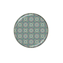 Decorative Ornamental Geometric Pattern Hat Clip Ball Marker (10 Pack) by TastefulDesigns