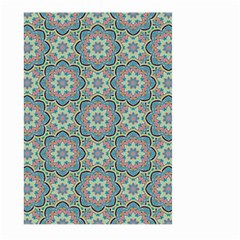 Decorative Ornamental Geometric Pattern Large Garden Flag (two Sides)